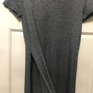 Long T with side slit